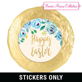 "Bonnie Marcus Collection Easter Blue Flowers 1.25"" Stickers (48 Stickers)"