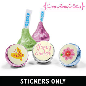 "Bonnie Marcus Collection Easter Spring Flowers 3/4"" Sticker (108 Stickers)"