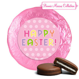 Bonnie Marcus Collection Easter Pink Dots Milk Chocolate Covered Oreos