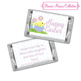Bonnie Marcus Collection Easter Purple Flowers Hershey's Miniatures
