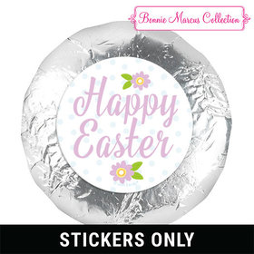 "Bonnie Marcus Collection Easter Purple Flowers 1.25"" Stickers (48 Stickers)"