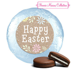 Bonnie Marcus Collection Easter Pastel Flowers Milk Chocolate Covered Oreos