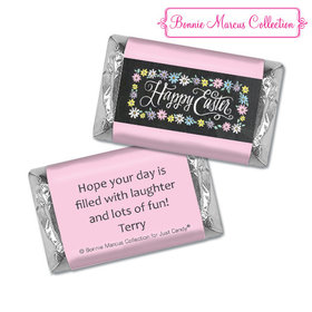 Bonnie Marcus Collection Happy Easter Script Hershey's Miniatures
