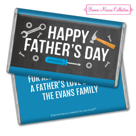 Personalized Father's Day Tools 1lb Hershey's Chocolate Bar