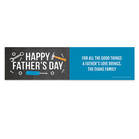 Personalized Bonnie Marcus Tools Father's Day Banner