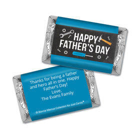 Bonnie Marcus Collection Personalized Father's Day Hershey's Miniatures Tools