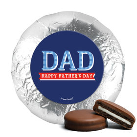 Bonnie Marcus Collection Father's Day Plaid Milk Chocolate Covered Oreos (24 Pack)