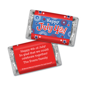 Personalized Bonnie Marcus Independence Day Fireworks Hershey's Miniatures