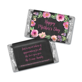 Bonnie Marcus Collection Chocolate Candy Bar & Wrapper Floral Embrace Mother's Day Favors