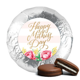 Bonnie Marcus Mother's Day Pink Flowers Milk Chocolate Covered Oreos