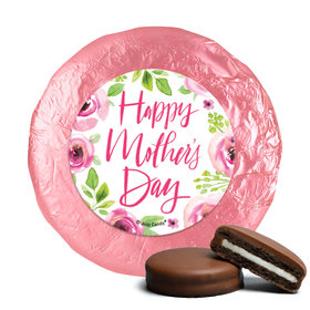 Bonnie Marcus Mother's Day Pink Floral Milk Chocolate Covered Oreos