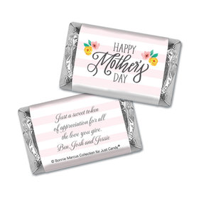 Personalized Bonnie Marcus Mother's Day Hershey's Miniatures Floral Embrace