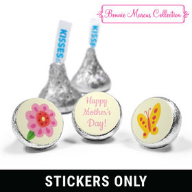 "Mother's Day Spring Flowers 3/4"" Sticker (108 Stickers)"