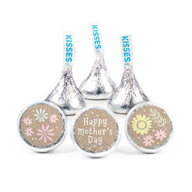 Bonnie Marcus Mother's Day Pastel Flowers Hershey's Kisses (50 pack)