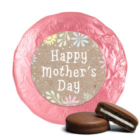 Bonnie Marcus Collection Mother's Day Pastel Flowers Milk Chocolate Covered Oreos