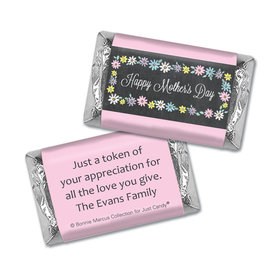 Personalized Bonnie Marcus Collection Mother's Day Hershey's Miniatures Wrappers Script
