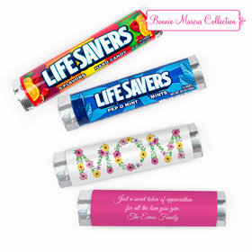 Personalized Bonnie Marcus Mother's Day Mom Lifesavers Rolls (20 Rolls)