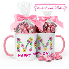 Personalized Bonnie Marcus Mother's Day Mom 11oz Mug 1/2lb KISSES
