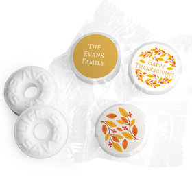 Personalized Bonnie Marcus Thanksgiving Giving Thanks Life Savers Mints (300 Pack)