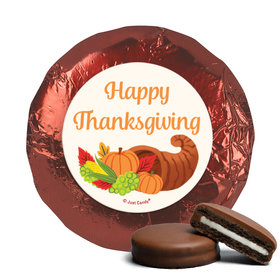 Personalized Bonnie Marcus Thanksgiving Cornucopia Chocolate Covered Oreos (24 Pack)