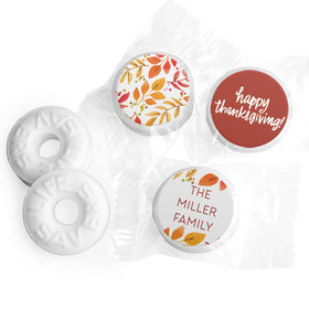Personalized Bonnie Marcus Thanksgiving Fall Foliage Life Savers Mints