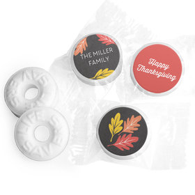 Personalized Bonnie Marcus Thanksgiving Thankful Chalkboard Life Savers Mints