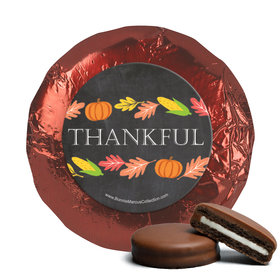 Bonnie Marcus Thanksgiving Thankful Chalkboard Chocolate Covered Oreos (24 Pack)
