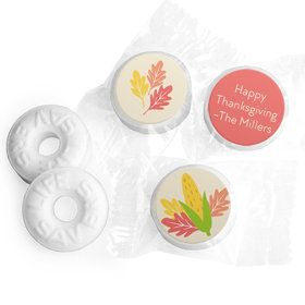 Personalized Bonnie Marcus Thanksgiving Happy Harvest Life Savers Mints