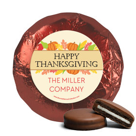 Personalized Bonnie Marcus Thanksgiving Happy Harvest Chocolate Covered Oreos (24 Pack)