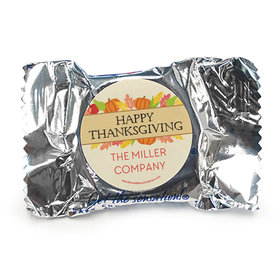 Personalized Bonnie Marcus Thanksgiving Happy Harvest York Peppermint Patties