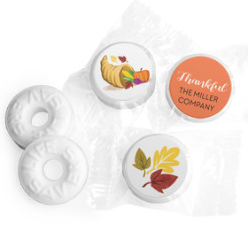 Personalized Bonnie Marcus Thanksgiving Bountiful Thanks Life Savers Mints