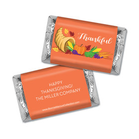 Personalized Bonnie Marcus Thanksgiving Bountiful Thanks Hershey's Miniatures