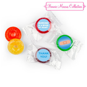 Personalized Bonnie Marcus Collection Nurse Appreciation Hearts Life Savers 5 Flavor Hard Candy