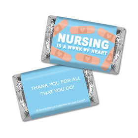 Personalized Bonnie Marcus Collection Nurse Appreciation Hearts Mini Wrappers
