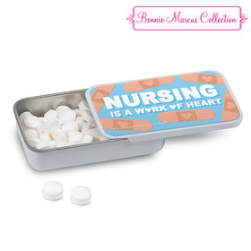 Bonnie Marcus Collection Nurse Appreciation Bandages White Mint Tin (12 Pack)