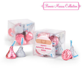 Bonnie Marcus Collection Nurse Appreciation Stripes Clear Gift Box with Sticker