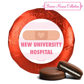 Personalized Bonnie Marcus Collection Nurse Appreciation Stripes Milk Chocolate Covered Oreos