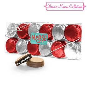 Bonnie Marcus Collection Nurse Appreciation Heart Stethoscope 12PK Chocolate Covered Oreo Cookies