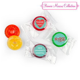 Personalized Bonnie Marcus Collection Nurse Appreciation Red Heart Life Savers 5 Flavor Hard Candy