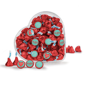 Bonnie Marcus Collection Nurse Appreciation Hershey's Kisses Heart Stethoscope Clear Heart Box 13oz