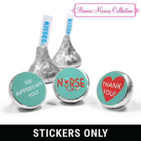 "Bonnie Marcus Collection Nurse Appreciation Heart Stethoscope 3/4"" Sticker (108 Stickers)"