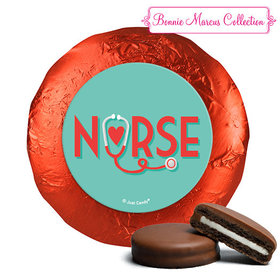 Bonnie Marcus Collection Nurse Appreciation Red Heart Chocolate Covered Oreos