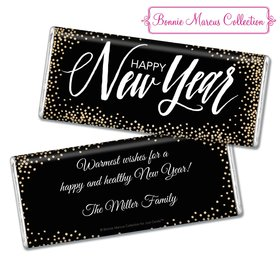 Personalized Good Year New Years Hershey's Chocolate Bar & Wrapper