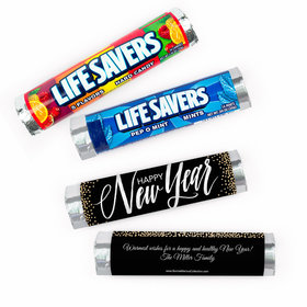 Personalized Bonnie Marcus New Year's Eve Bubbles Lifesavers Rolls (20 Rolls)