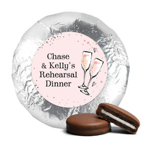 Bonnie Marcus Collection Rehearsal Dinner The Bubbly Custom Milk Chocolate Covered Oreo Cookies