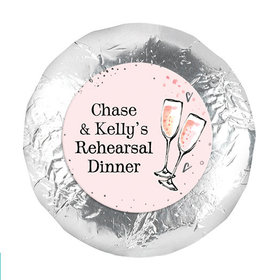 "Bonnie Marcus Collection Rehearsal Dinner The Bubbly Custom 1.25"" Stickers (48 Stickers)"
