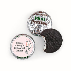 Bonnie Marcus Collection Rehearsal Dinner The Bubbly Custom Pearson's Mint Patties