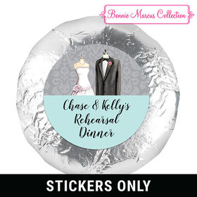 "Bonnie Marcus Collection Rehearsal Dinner Forever Together 1.25"" Stickers (48 Stickers)"