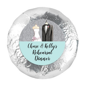 """Bonnie Marcus Collection Rehearsal Dinner Forever Together 1.25"""" Stickers (48 Stickers)"""
