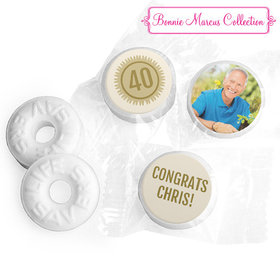 Personalized Bonnie Marcus Collection Retirement Certificate Life Savers Mints